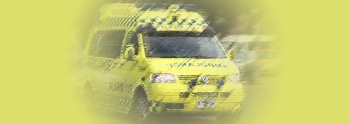 En tur i ambulancen